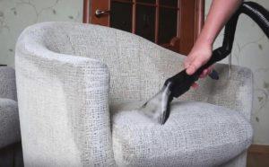 Чистка кресла
