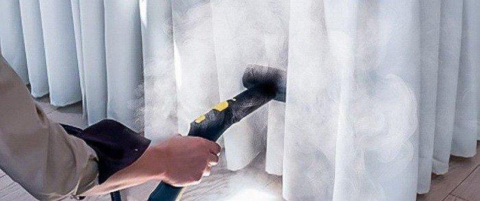 Плюсы и минусы химчистки штор на дому