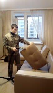 Фото чистки дивана